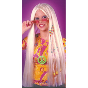 Braided Hippie Blonde Adult Halloween Wig