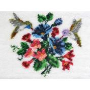 MCG Textiles 37755 Hummingbirds Latch Hook Rug Kit