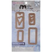 Spellbinders MD2-009 Hearts Three Die Templates