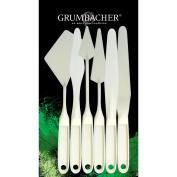 Chartpak Grumbacher Palette Knife Set, 6/pkgs