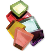 Crafter's Cut Coloured Mirrors 0.2kg/Pkg-Assorted