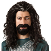 Hobbit Thorin Hair Kit Halloween Accessory