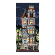 """Dimensions """"Victorian Charm"""" Counted Cross Stitch Kit, 20cm x 43cm"""