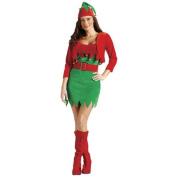 Elfalicious Sexy Elf Christmas Costume - Women's Size Medium/Large