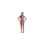 Rasta Imposta Nestle Cherry Laffy Taffy Tube Dress Teen Costume Teen - 13-16