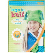 Leisure Arts Learn To Knit Hat