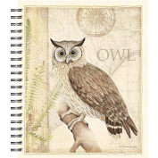 Lang Sanctuary Owl Spiral Bound Sketchbook