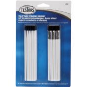 Testors Paintbrushes Value Pack, 20/pkg