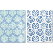 Sizzix Textured Impressions Embossing Folders, Classical Beauty & Baroque Wallpaper