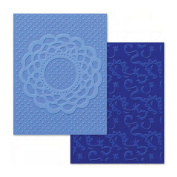 Sizzix Textured Impressions Embossing Folders, Doily & Lace