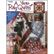 Leisure Arts-A Year Of Rag Quilts