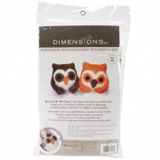 Dimensions Needlecrafts Round and Woolly Owls Needle Felting Kit