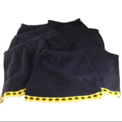 Pack of 10 Toddler Girls Navy Blue & Yellow Knit Skirts - Size 3T