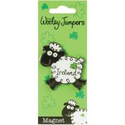 Dublin Gift Wooley Jumper Metal Magnet