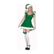 Sexy Green Elf Christmas Costume - Women's Size Small/Medium