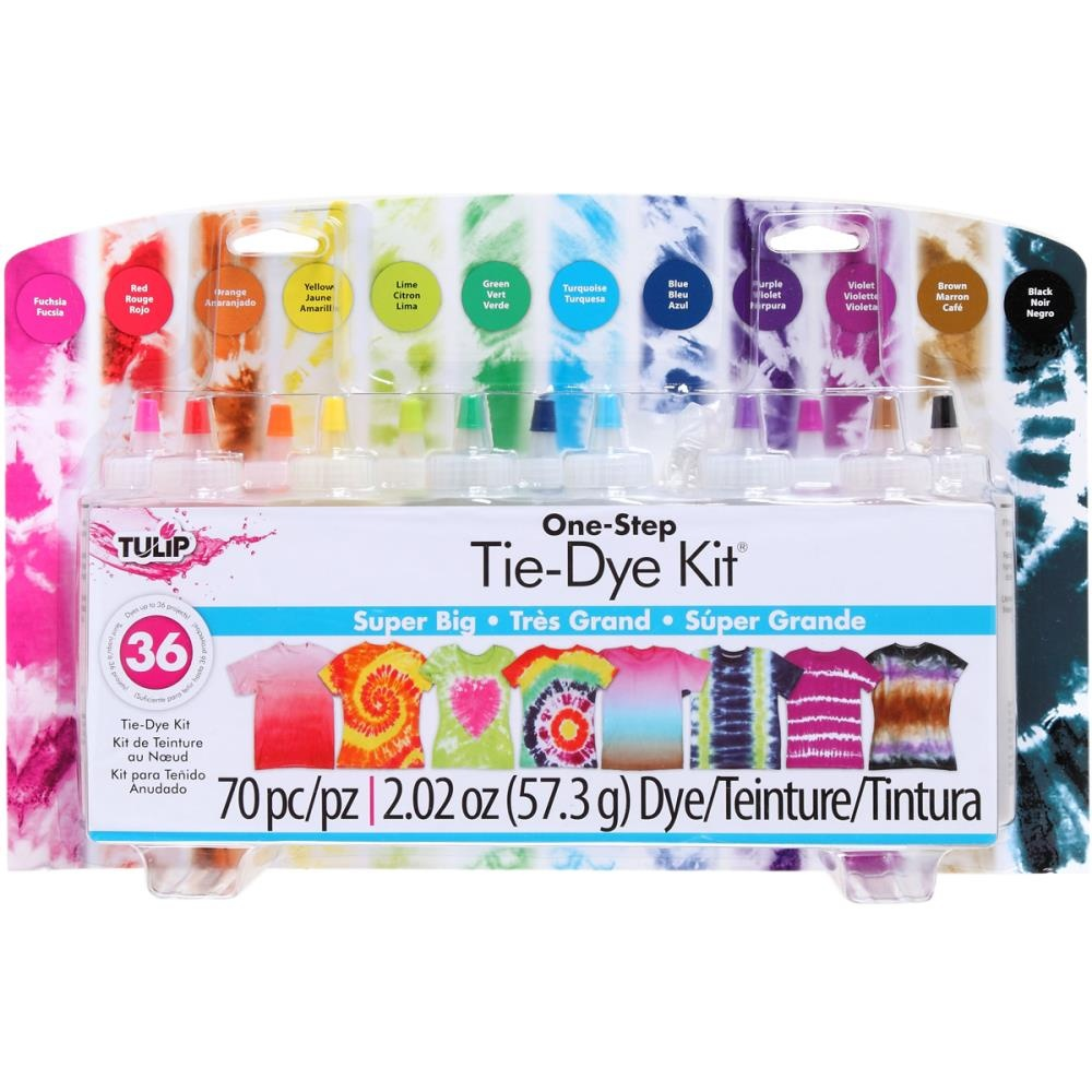 b90c1698dc80 Tulip 34723 One-Step Tie Dye Party Kit by Tulip - Shop Online for ...