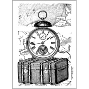 LaBlanche Silicone Stamp, 8.3cm x 11cm , Travelling Collection