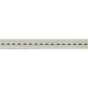 C'est Joli! Galon Couture Braid Ribbon, 1.3cm x 27 yds, White/Black
