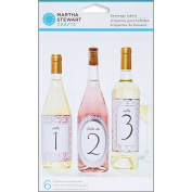 Martha Stewart Crafts Doily Lace Beverage Labels