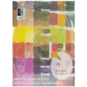 Art Alternatives AA15511 Art Alternatives Palette 25cm x 36cm -Clear Oval
