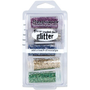 Stampendous Frantage Crushed Glass Glitter Kit for Arts and Crafts, Multi Colour
