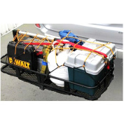 HitchMate Mounted Cargo Carrier, CargoWeb and Lock