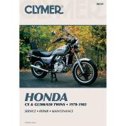 Clymer M335 1978-1983 Honda Cx and GL500/650 Twins Manual Hon Cx and GL500/650 Twins 78-83