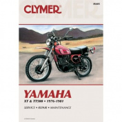 Clymer M405 1976-1981 Yamaha Xt and Tt Singles Manual Yam Xt and Tt Singles 76-81