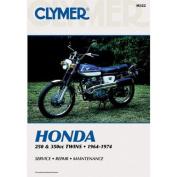 Clymer M322 1964-1974 Honda 250-350Cc Twins Manual Hon 250-350Cc Twins 64-74
