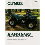Clymer M467 1993-1999 Kawasaki KLF400 Bayou Service Manual Kawasaki