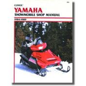 Clymer S826 Service Manual Yamaha