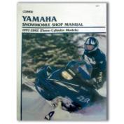 Clymer S827 Service Manual Yamaha 3 Cylinder