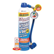 EZ Chill Refrigerant with Charging Hose and Gauge, 530ml