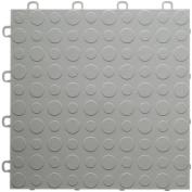 BlockTile Modular Interlocking Garage Floor Tiles, Set of 30