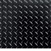 G-Floor RaceDay Peel and Stick Tile with PSA, Diamond Tread, 30cm x 30cm , Midnight Black, 20pc