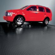 G-Floor Garage Floor Cover/Protector, 3m x 7.3m, Coin, Midnight Black