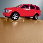 G-Floor Garage Floor Cover/Protector, 3m x 7.3m, Coin, Sandstone