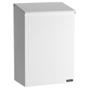 Allux 100 Top Loading Wall Mount Mailbox in White