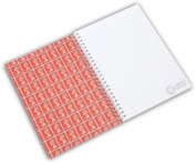 Stamp Collection A5 Notebook - RedBlueGold.
