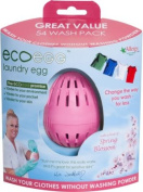Ecoegg Laundry Egg 54 Washes - Soft Cotton.