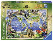 Ravensburger Howard Robinson World of Wildlife 1000pc Jigsaw