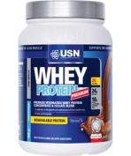 USN Whey 908g Protein Shake - Strawberry.