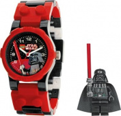 LEGO® Star Wars Boys' Darth Vader Buildable Watch.