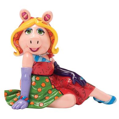 Enesco Disney by Britto Miss Piggy Figurine, 18cm