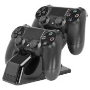 PDP New Energizer X2 Charging System for Playstation 4 Controller, Officially Licensed By Engergizer [Region 2]