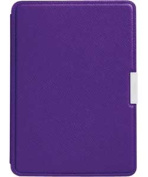 Kindle Paperwhite Leather Cover - Purple.