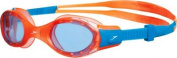 Speedo Junior Future Biofuse Goggles - Orange/Blue.