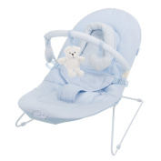 Obaby B is for Bear Vibrating Bouncer - Blue