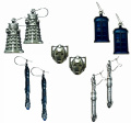 Dr Doctor Who Official Licenced Dalek Earrings - Beautifully cast in English Pewter