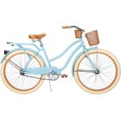 70cm Huffy Nel Lusso Women's Cruiser Bike, Gloss Blue